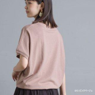【インスタライブ販売会】綿麻カット ドルマン半袖Tシャツ(全6色)