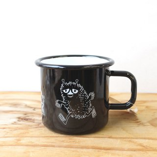 【新柄】ムーミン ムールラ ホーローマグ(スティンキー) / Moomin / Muurla /