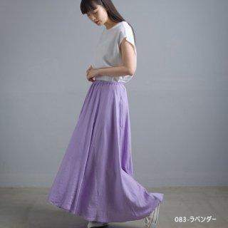 【インスタライブ販売会】麻レーヨン フレアスカート(全3色) / フリーサイズ