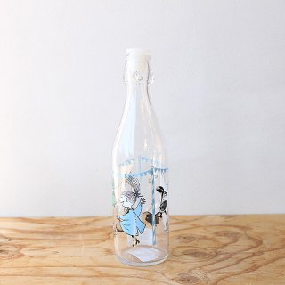 【新柄】 ムーミン ガラスボトル Summer Party(500ml) / Moomin / Muurla / キッチンウェア