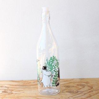 【新柄】 ムーミン ガラスボトル In the Garden(1000ml) / Moomin / Muurla / キッチンウェア