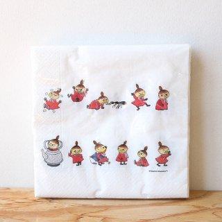【新柄】ムーミン ペーパーナプキン (Little My Online)20枚入り / Moomin / Opto design / キッチンウェア