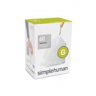 【simplehuman / シンプルヒューマン】コードG パーフェクトフィットゴミ袋 【4箱1セット】【メーカー直送品】