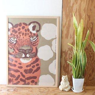 【2021年夏限定】 マリメッコ アートポスター Kaksoset カクソセット / 50×70cm(木製フレーム付)/ marimekko 【送料無料】
