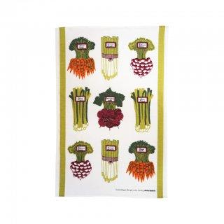【almedahls】 アルメダールス キッチンタオル(夏野菜) 【1点までネコポス発送可】