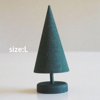 LARSSONS TRA ラッセントレー 木製置物 スウェーデンツリー (グリーン/Lサイズ)