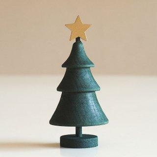 【クリスマスアイテム】ラッセントレー/木製/スウェーデンツリー スター (グリーン)/LARSSONS TRA