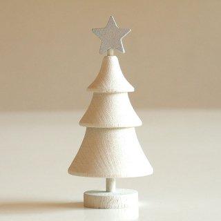 【クリスマスアイテム】ラッセントレー/木製/スウェーデンツリー スター (ホワイト)/LARSSONS TRA