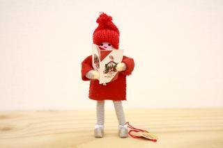 アンネ・ベアテ・ドールズ ニッセ人形 (man with Catalogue 2013)/Anne Beate Dolls
