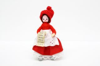 アンネ・ベアテ・ドールズ ニッセ人形 (Woman with Wishinglist 2012)/Anne Beate Dolls