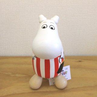 ムーミン Moomin/木製つぼ押し人形 (ムーミンママ)/ハンドペイント