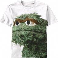 【在庫あり/生産終了】セサミストリート オスカー Tシャツ クッキーモンスターSesame Street Cookie