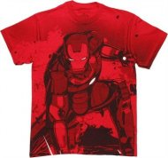 【僅か在庫あり】 アイアンマン Tシャツ Ironman 3 バックプリント有り 衣装 コスプレ アメコミ