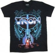 【僅か在庫あり】トロン 【ソフトタイプ★ロゴが光る!】Tシャツ TRON ディズニー 正規品