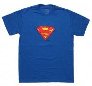 <img class='new_mark_img1' src='https://img.shop-pro.jp/img/new/icons61.gif' style='border:none;display:inline;margin:0px;padding:0px;width:auto;' />【生産終了激レアデザイン】Superman Logo T ShirtスーパーマンロゴTシャツ アメコミ DCコミック アメリカンコミック