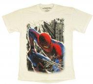 <img class='new_mark_img1' src='https://img.shop-pro.jp/img/new/icons61.gif' style='border:none;display:inline;margin:0px;padding:0px;width:auto;' />【生産終了激レアデザイン】Amazing Spiderman Perch T Shirt Marvel Comic アメージングスパイダーマン Tシャツ アメコミ マーベルコミック