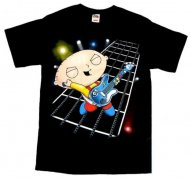 <img class='new_mark_img1' src='https://img.shop-pro.jp/img/new/icons61.gif' style='border:none;display:inline;margin:0px;padding:0px;width:auto;' />【生産終了】ファミリーガイ Tシャツ〈通常生地〉Family Guy shirt Stewie Hero アメリカ輸入ライセンス正規品