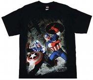 <img class='new_mark_img1' src='https://img.shop-pro.jp/img/new/icons25.gif' style='border:none;display:inline;margin:0px;padding:0px;width:auto;' />【僅か在庫あり】キャプテンアメリカTシャツ Avengers Captain shirt Iron Hulk アメコミ ソーマーベル正規品Official
