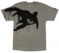 【生産終了★世界的に入手不可デザイン!】スーパーマン Tシャツ【 グレー 】 Batman DCコミック アメコミ Superman Official T-shirt