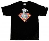 【生産終了★世界的に入手不可デザイン!】スーパーマン Tシャツ Fist  Batman DCコミック アメコミ Superman Official T-shirt