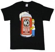 <img class='new_mark_img1' src='https://img.shop-pro.jp/img/new/icons28.gif' style='border:none;display:inline;margin:0px;padding:0px;width:auto;' />【在庫あり】シンプソンズTシャツ Simpsons Beer Homer ホーマー ラルフ・ウィガム
