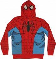 <img class='new_mark_img1' src='https://img.shop-pro.jp/img/new/icons24.gif' style='border:none;display:inline;margin:0px;padding:0px;width:auto;' />50%OFF【激安★在庫で完全終了】スパイダーマン フード付パーカー マーベル 衣裳にイベントに!Spiderman Hoddie