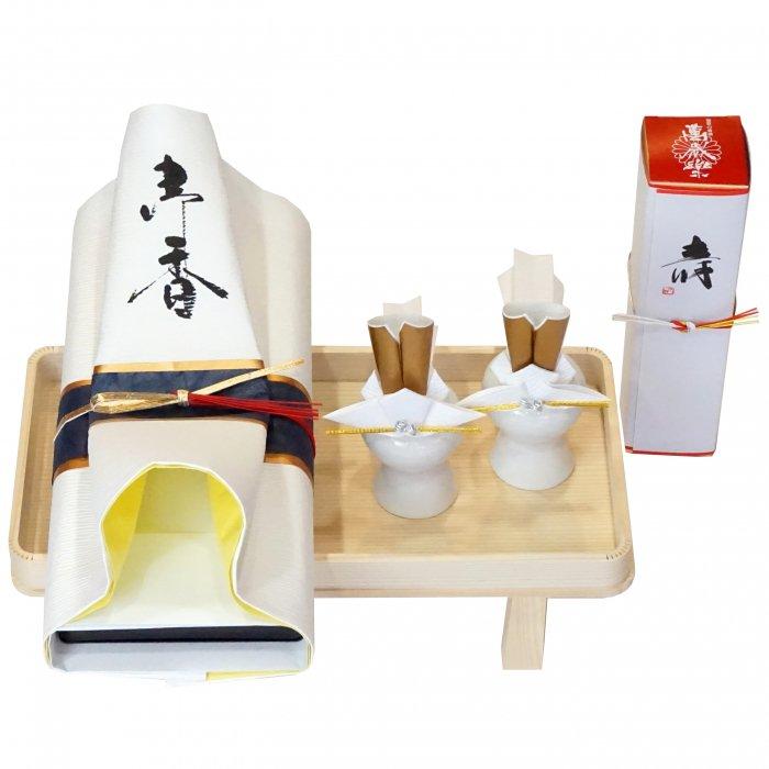 yuinou007神仏セット 結納用 仏壇神棚 仏様お供え一式