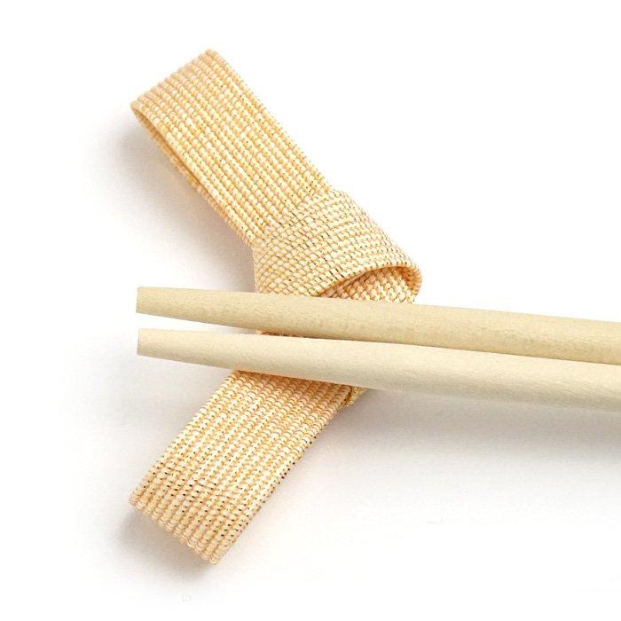 ko0258水引結びの箸置き ベージュ