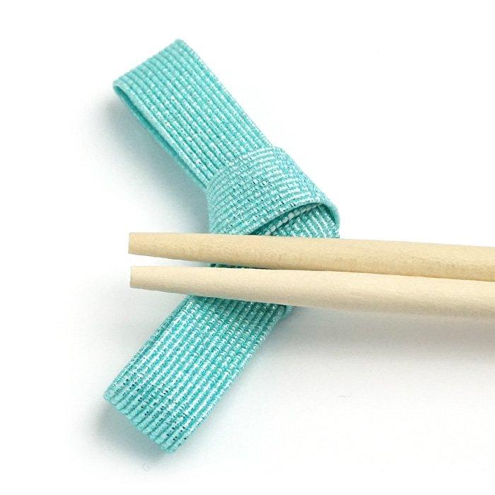 ko0261水引結びの箸置き ブルー