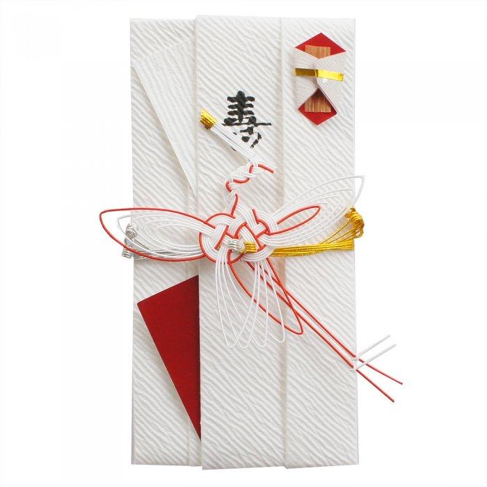 sm0012糸鶴の祝儀袋 (赤)