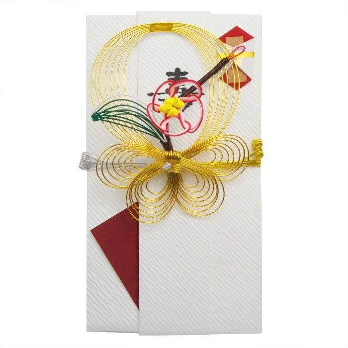 sm0019梅飾りの祝儀袋
