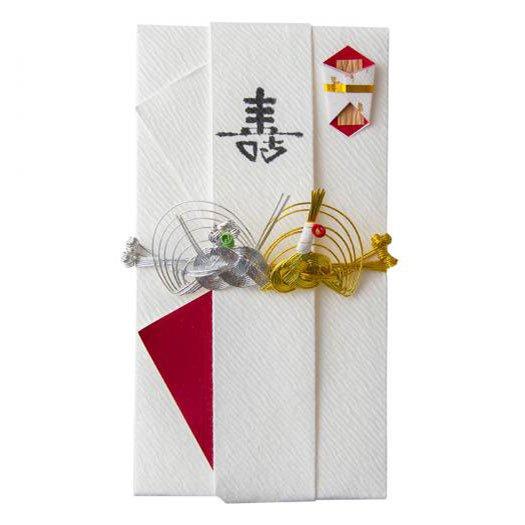 sm0009結び鶴亀の祝儀袋