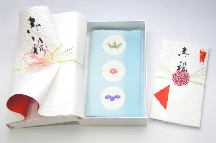 ko0109加賀伝統工芸 慶弔両面袱紗と金封セット「金澤掬 かなざわむすび」