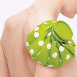ノベルティ・粗品で人気の「アイスバッグ 1000■グリーン」