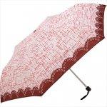 折り畳み傘 ツイード [スリム] 1個