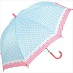 女児傘 ガーリードット 1個