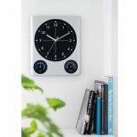 ノベルティ・粗品で人気の「BIG掛時計(温湿度計付)」