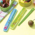 ノベルティ・粗品で人気の「 ピクニックアニマル 箸・箸箱セット 1個」