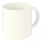 ノベルティ・粗品で人気の「陶器マグ ストレート(S+)/アイボリー」