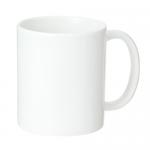 ノベルティ・粗品で人気の「陶器マグ ストレート(M+)/ホワイト」