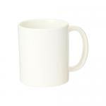 ノベルティ・粗品で人気の「陶器マグ ストレート(M+)/アイボリー」