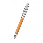 レザースタイルメタルペン/ベージュ