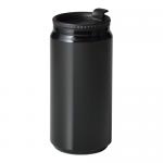 ノベルティ・粗品で人気の「缶型サーモステンレスタンブラー/ブラック」