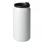 ノベルティ・粗品で人気の「缶型サーモステンレスタンブラー/ホワイト」