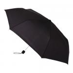 ノベルティ・粗品で人気の「 大判耐風UV折りたたみ傘/ブラック」