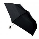 ノベルティ・粗品で人気の「一振りで雨水が切れやすい折り畳み傘/ブラック」