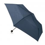 ノベルティ・粗品で人気の「一振りで雨水が切れやすい折り畳み傘/ネイビー」