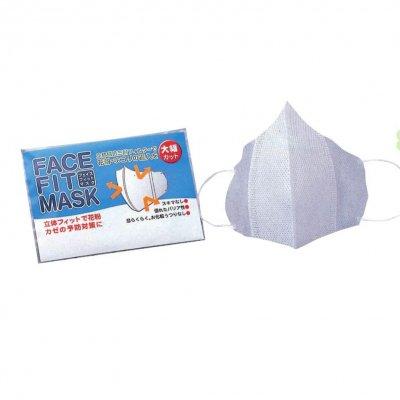 ノベルティ・粗品で人気の「立体フェイスフィットマスク3P」