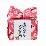 飴とハンカチのプチギフト☆あめはん/桜と招き猫
