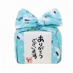飴とハンカチのプチギフト☆あめはん/麻の葉に鶴